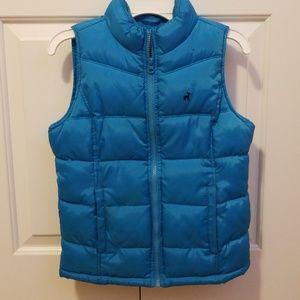 Puffy girls vest